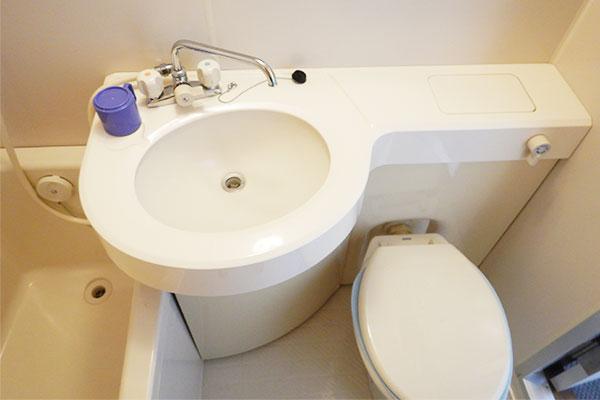 和洋室-トイレ